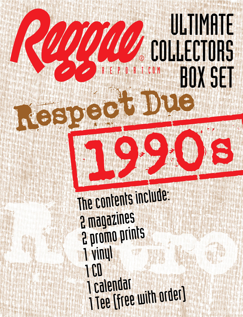 Reggae Report Ultimate Collectors Box Set: The 1990s - Respect Due!