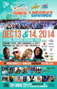 ONE Caribbean Music Festival Debuts in Ft. Lauderdale!