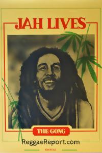 Bob Marley Jah Lives Poster 1982