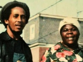 Cedella Booker & young Bob in Delaware.