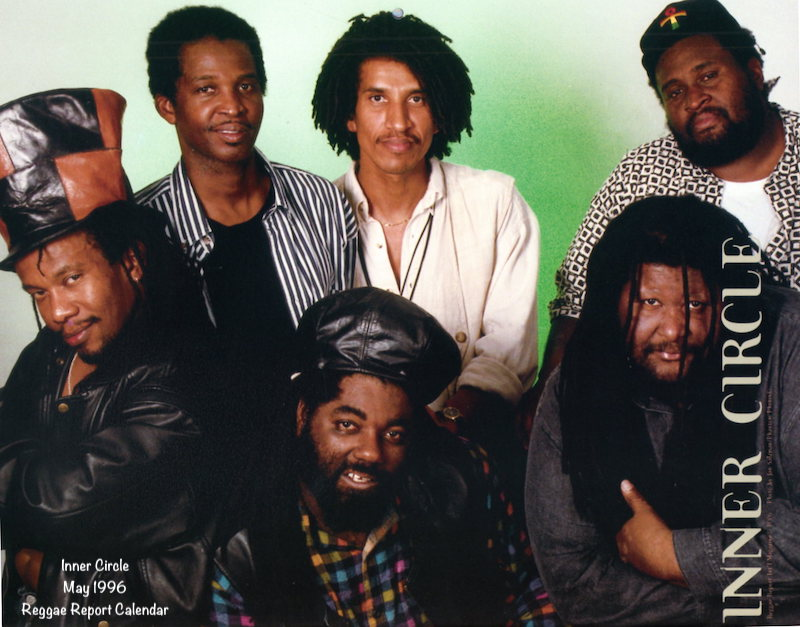 Inner Circle 1996 Reggae Report Calendar