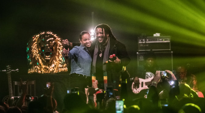 Stephen Marley & his 20-year-old dawta Mystic Marley