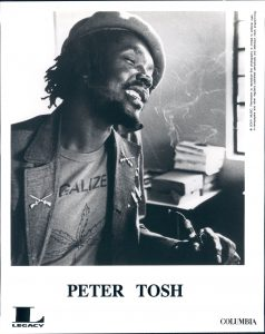 Peter Tosh Promo Print