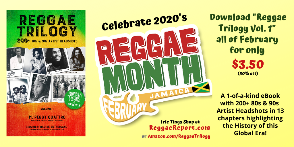 half off Reggae Trilogy eBook for Reggae Month