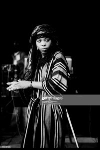 Puma Jones of Black Uhuru
