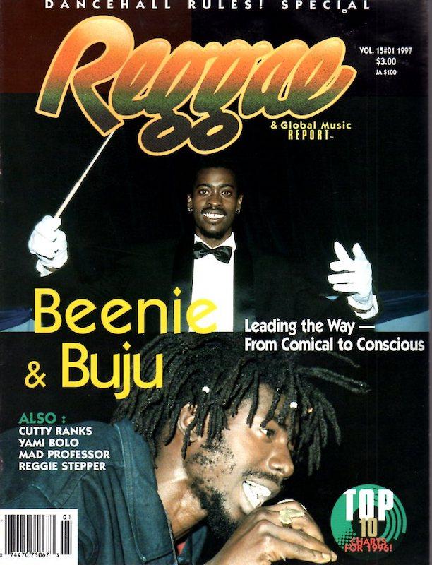 beenie man cover reggae report reggae history