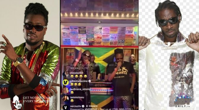 beenie man bounty killa verzuz clash 2020