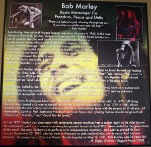 bob marley at mystic mountain