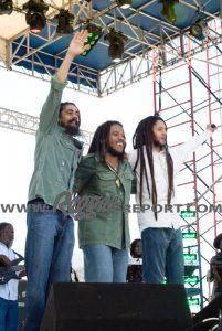 Damian, Stephen, Julian Marley