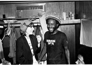 Burning Spear Patti Smith NYC 1976