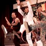 Lucky on final tour - California 2007
