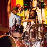 Lucky on Drums - Final tour CA 2007