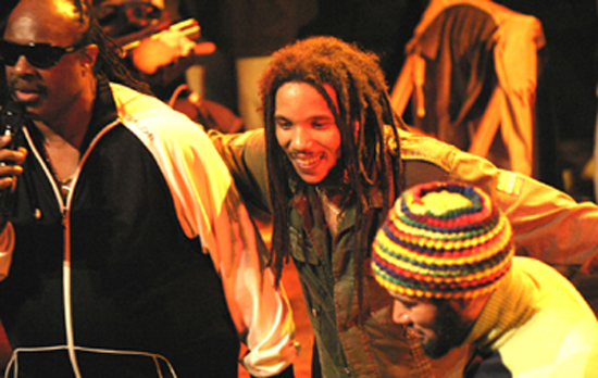 Stephen Marley, Stevie Wonder, Ben Harper