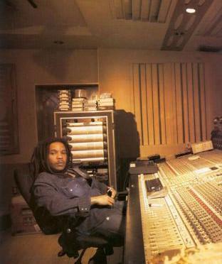 Stephen Marley in the Studio