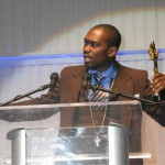 Busy Signal accepts RA award for Best Male Dancehall Vocal Performance