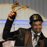 Shaggy accepts RA award for Best Dancehall Album and Best Dancehall Video