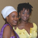 The lovely Queen Ifrica and Cherine Anderson