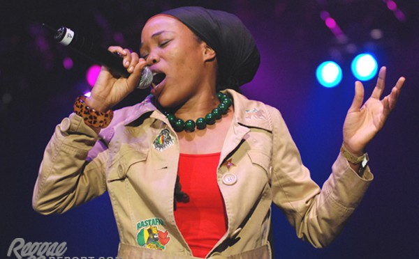 Queen Ifrica is taking on society with her blazing lyrics