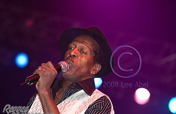 Gregory Isaacs did not disappoint fans