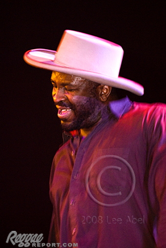 Legendary Eek-A-Mouse closed the show