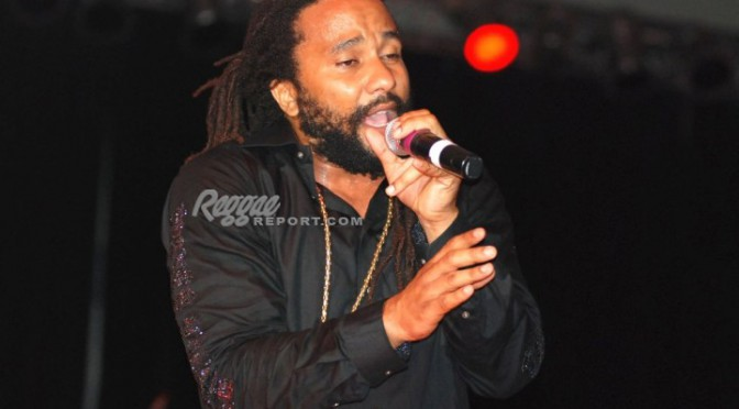 Ky-Mani Marley rocked the Miami amphitheater