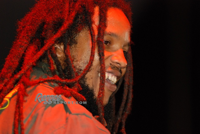 Stephen closed the Miami fest with the Marley brothers