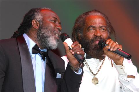 Two masters of song - Freddie McGregor and John HOlt