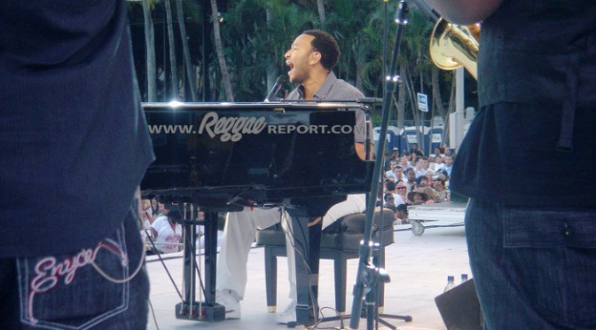 John Legend at SunFest, W. Palm Beach '08