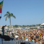 Stephen Marley - the crowd, the boats, a great day at SunFest