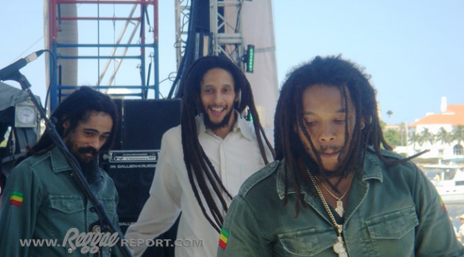 Damian, Julian and Stephen Marley - SunFest '08