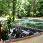 Clear natural springs at Park entrance