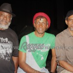 Nambo Robinson, Sly Dunbar, and Willie Lindo in the wings