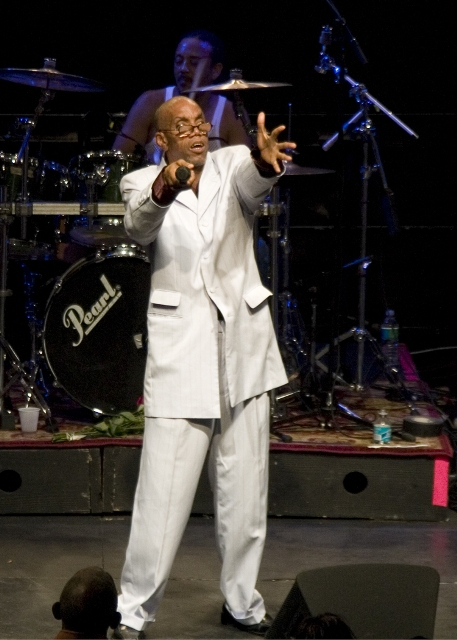 Frankie Paul closed the show