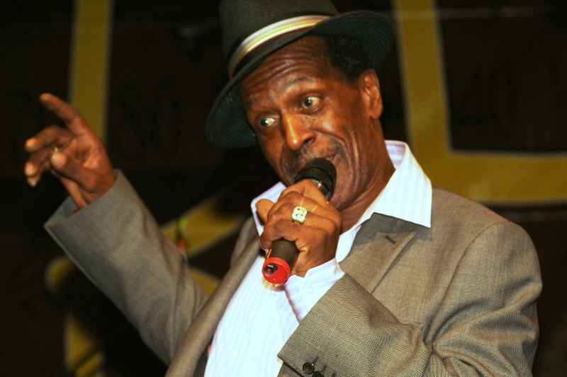 Gregory Isaacs had a great time!