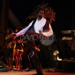 Buju with locks flying