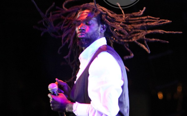 Buju in his element