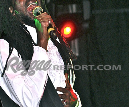 Buju sings from the heart