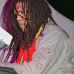 Marley family member Jimmy Malcolm on keys