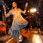 Nkulee gave a upbeat performance