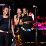 Nkulee with her fantastic singers
